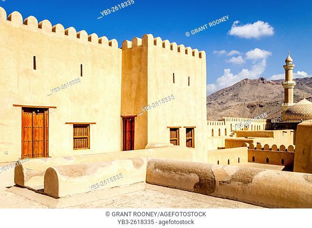 The Nizwa Fort, Nizwa, Ad Dakhiliyah Region, Oman