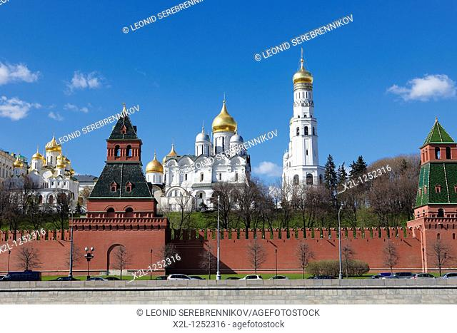 The Kremlin's cathedrals  Moscow, Russia