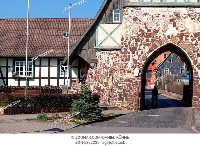 Neustadt Harz Historisches Stadttor zur Altstadt