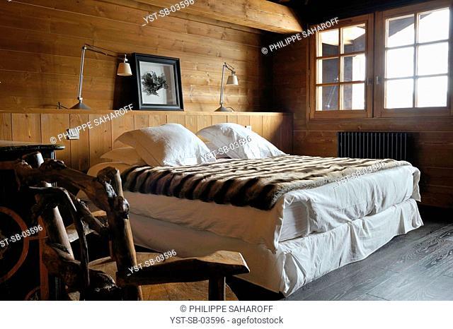 Country cottage, Mont Blanc, Saint Gervais, France