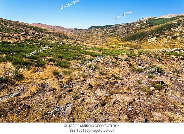 Regajos del Tio Blas  Sierra de Gredos  Ávila  Castilla León  Spain