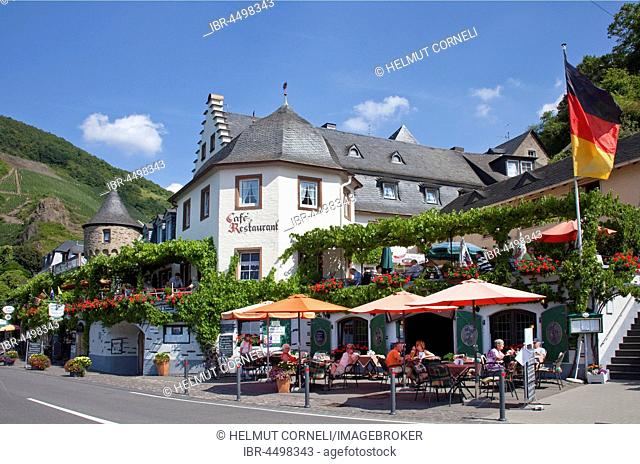 Restaurant, Catering, Beilstein on the Moselle, Rhineland-Palatinate, Germany