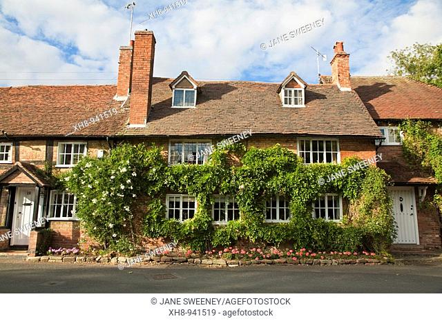Houses, Warwick, Warwickshire, England, UK
