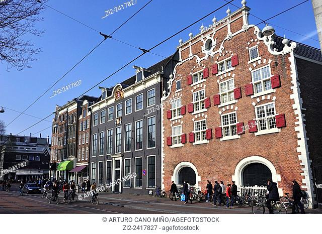 Old houses. Amsterdam, The Netherlands