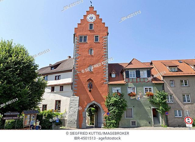 Obertor, Oberstadt, Meersburg, Lake Constance, Baden-Württemberg, Germany