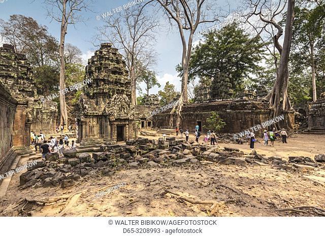 Cambodia, Angkor, Ta Prohm temple