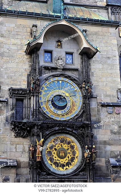 Old Town Hall and Prague Astronomical Clock