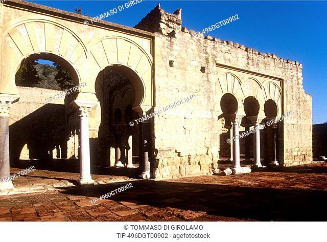 Spain, Andalusia, Cordoba area, Medina Azahara built in 963 by Al- Rahman III Caliph