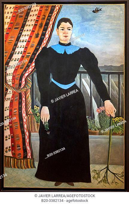 """""""Portrait de femme"""", 1895, Le Douanier Rousseau (Henri Rousseau, dit), Picasso Museum, Paris, France, Europe"""