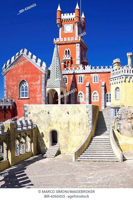 Pena National Palace, palace, Sintra, Portugal