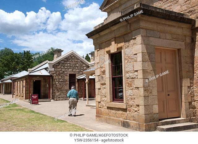 Gold rush-era public buildings in Beechworth, NE Victoria