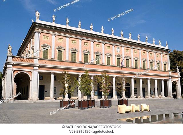 Teatro Municipale Valli (Municipal Theatre), Piazza Vittoria, Reggio Emila, Emilia Romagna, Italy