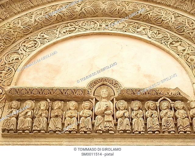 Salento, Puglia, Galatina Locality, Santa Caterina Church, Detail