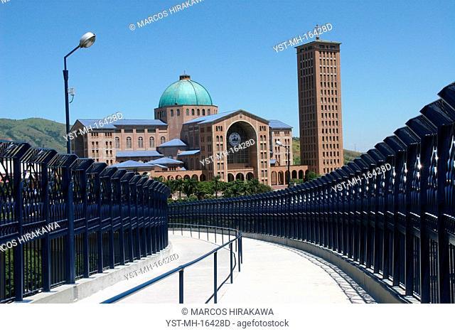 Ponte of the Basilica, Basilica Nossa Senhora Aparecida, Aparecida do Norte, São Paulo, Brazil