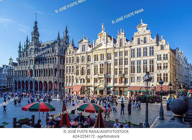 Belgium, Brussels City,La Grand Place