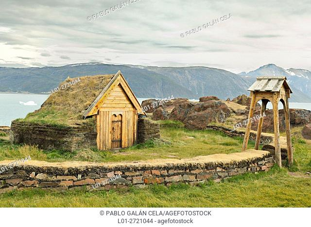 Qasiarsuq, reconstruction of the first church (Greenland)