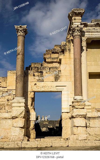 Ruins in Beit Shearim National Park; Beit Shean, North District, Israel