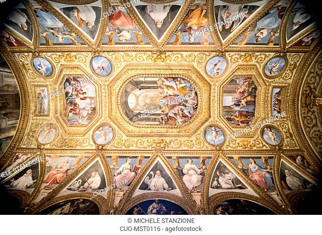 Chapter house, Certosa di San Martino, Naples, Campania, Italy, Europe