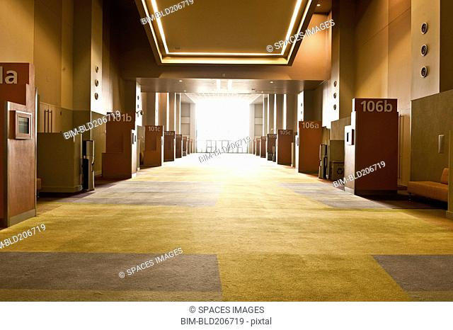 Corridor in Conference Center