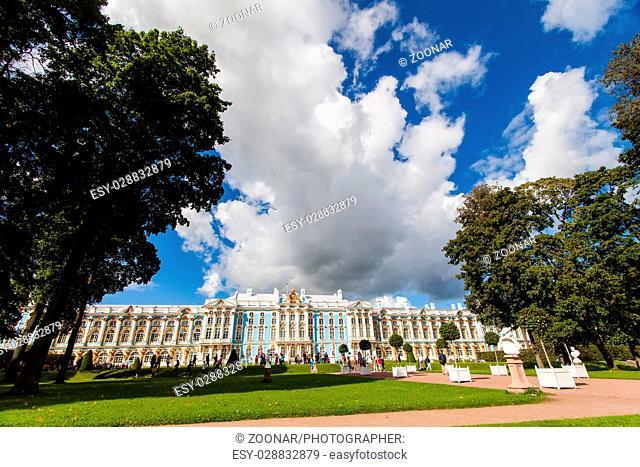 Catherine Palace in Saint Petersburg