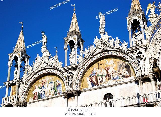 Italy, Venice, Saint Mark's Basilica