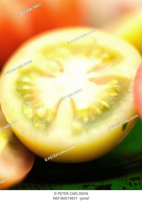 Tomato cut into a half, Sweden