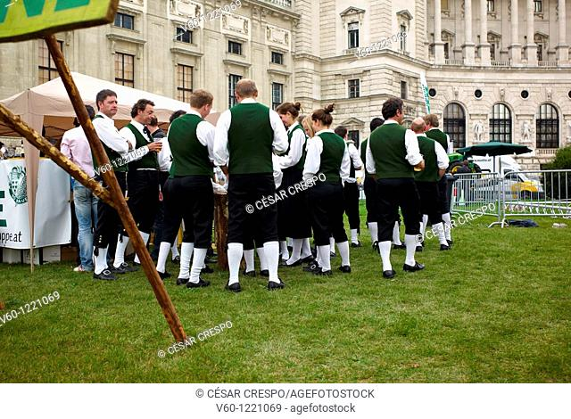 -Traditional Festivity- Erntedankfest, Wien (Austria)