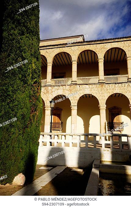 Palace of Infantado in Guadalajara city, Spain
