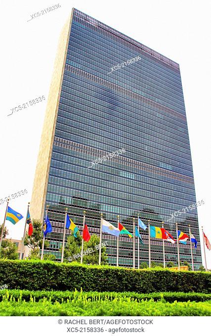 U.N. Building, New York City, United States