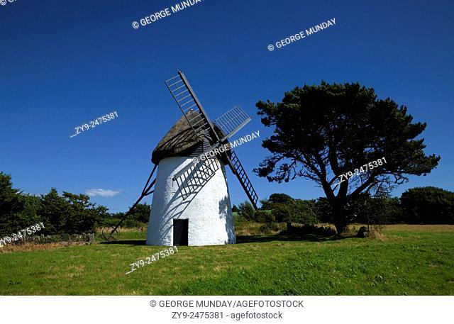 Thatched Windmill, Tacumshane, County Wexford, Ireland