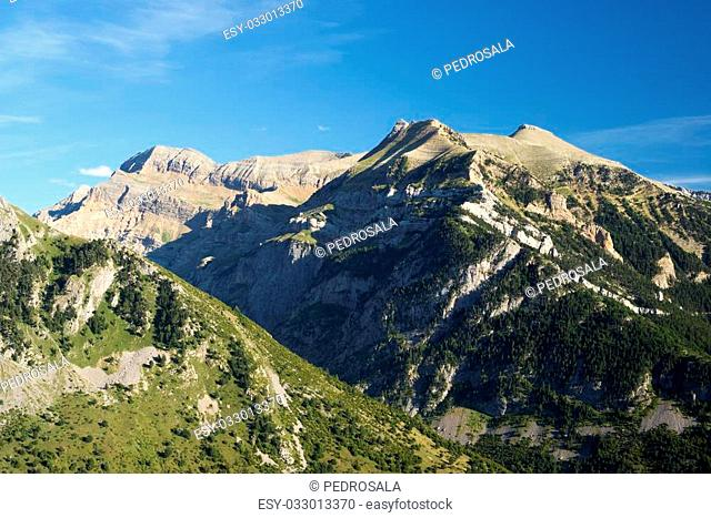 Izas Valley in Pyrenees, Canfranc Valley, Aragon, Huesca, Spain