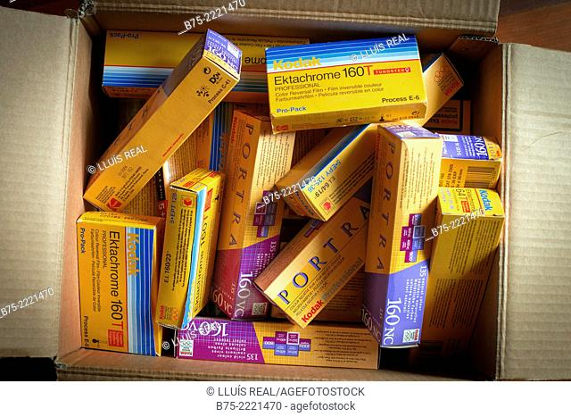 Kodak roll films Stock Photos and Images   age fotostock