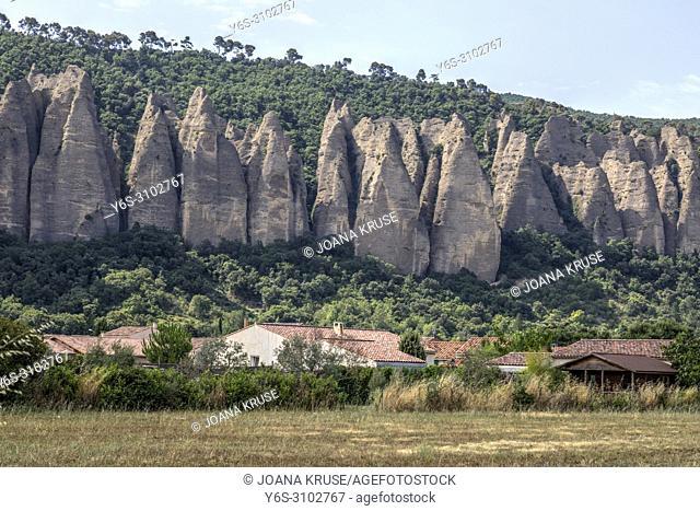 Les Mees, Alpes-de-Haute-Provence, Provence, France