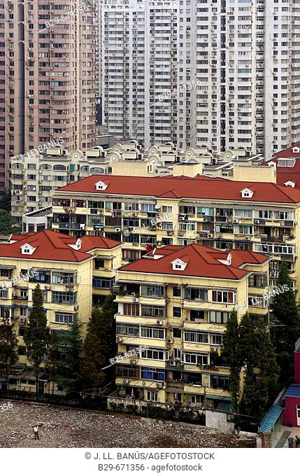 Buildings, Shanghai. China