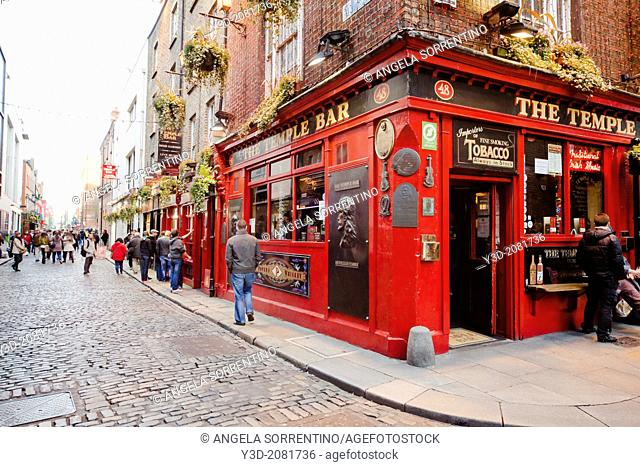 Dublin, Temple Bar Street