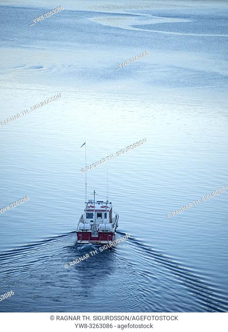 Boat - Eiriksfjordur, Qaqortoq , South Greenland