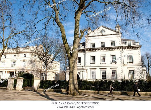 Palace Gardens Terrace, Kensington, London, W8, UK
