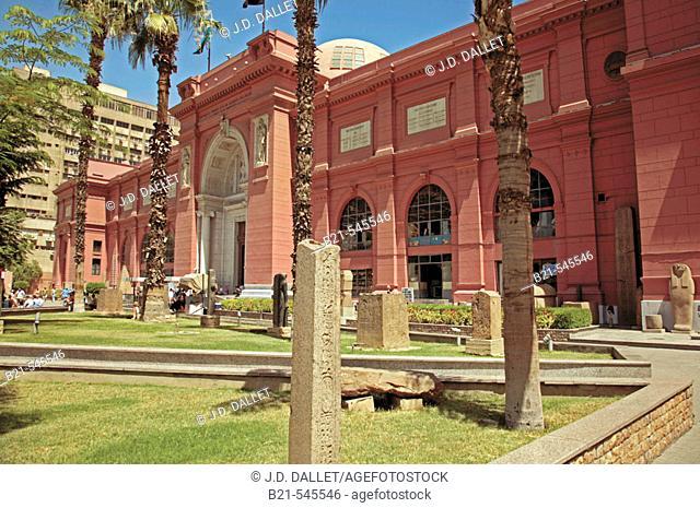 Egyptian Museum, El Cairo. Egypt