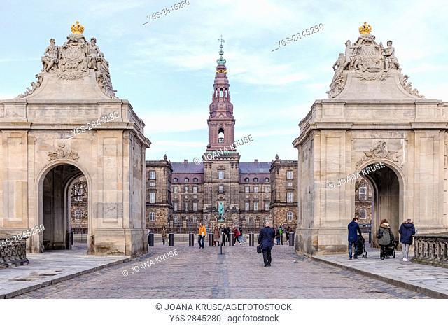 Christiansborg, Copenhagen, Denmark, Scandinavia