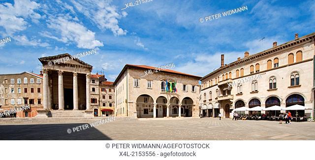 old city center, Croatia, Istria, Pula