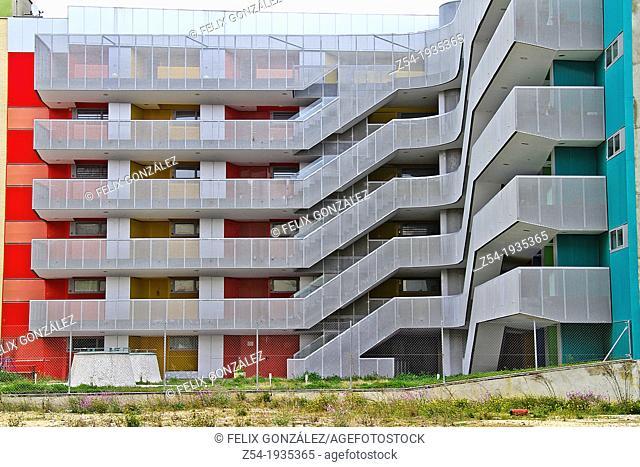 Public housing Vallecas, Madrid Spain