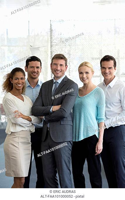 Team of professionals, portrait