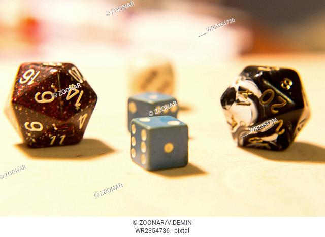 Pack of dices