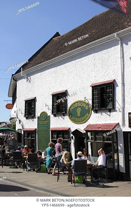 Hobson Patisseries Cafe Henley Street Stratford Upon Avon