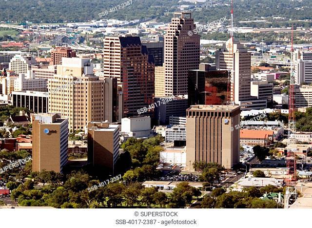 Downtown San Antonio, Texas Skyline