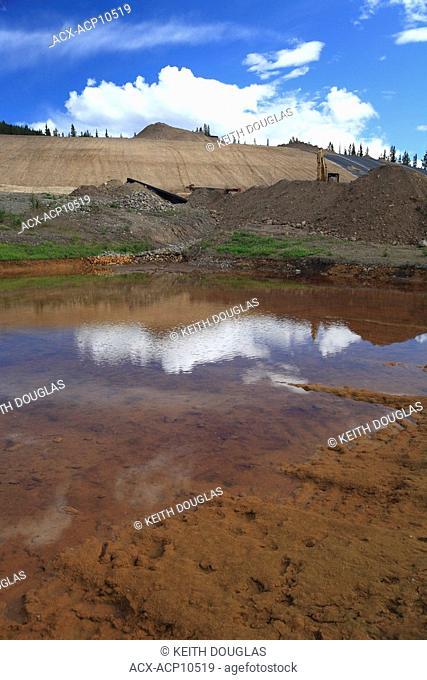 Old mine waste rock rehabilitation, Duthie Mine, Smithers, British Columbia