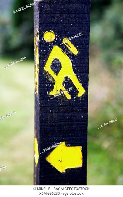 Route sign, Ireland