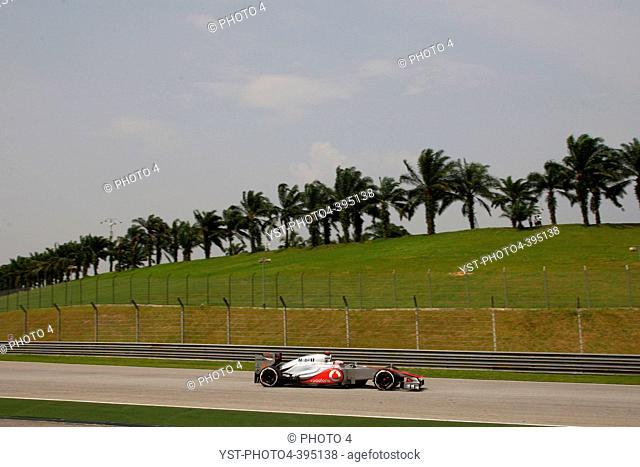 23.03.2012- Free Practice 2, Jenson Button (GBR) McLaren Mercedes MP4-27, F1, Malaysian Grand Prix, Sepang, Malaysia