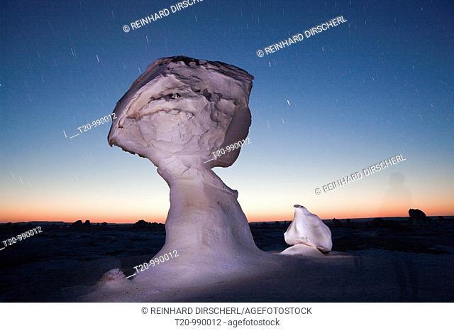 Formations in White Desert National Park, Libyan Desert, Egypt