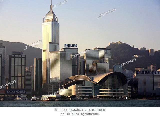 China, Hong Kong, Wanchai, Convention Centre, Central Plaza
